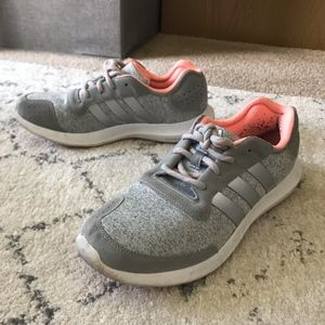 ADIDAS Gray Sneakers - Women's Size 8